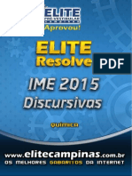 Elite Resolve IME 2015-Quimica