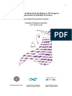 Programa_xii Jornadas Historia de Las Mujeres_vii Congreso Iberoameriano de Estudios de Genero