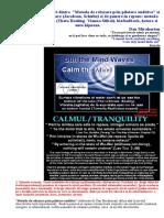 Relaxare Pilotata Auditiv Conexiuni/Deosebiri cu/de alte metode