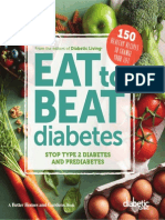 DIABETIC LIVING EAT TO BEAT DIABETES by Diabetic Living