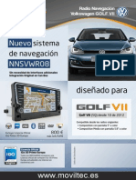 Moviltec Navegador Para Golf 7