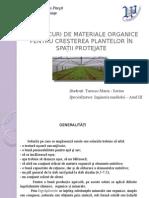 Amestecuri de Materiale Organice Pentru Creșterea Plantelor În