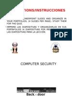 Computer Security Slides-diapositivas Power Point