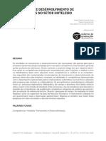 Artigo Treinamento e Desenvolvimento Por Competência