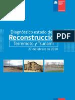 Diagnóstico estado de la reconstrucción, terremoto y tsunami