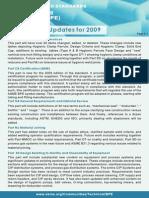 BPE Update 2009