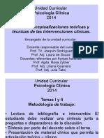 Psicología Clínica Historia- Hecho Clínico