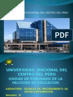 Tecnicas Proc.datos e Inf. Uncp Maestria