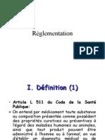 Cours IFSI Reglementation