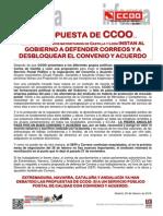 2011564-Comunicado a Propuesta de CCOO....