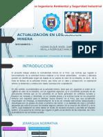 Actualización en Legislación Minera