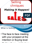 Selling Techniques