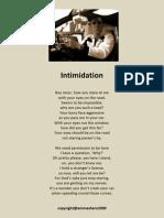 'Intimidation'