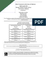 CPUC Public Agenda 02-26-15