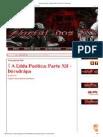Portal Dos Mitos_ a Edda Poética_ Parte XII - Þórsdrápa