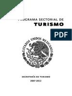 Programa Sectorial de Turismo 2007-2012