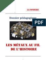 Dossier Pedagogique Metaux