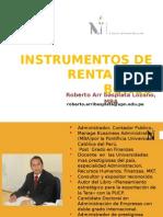 Instrumentos de Renta Fija