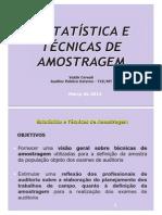 Valdir Cereali - Estatística e Técnicas de Amostragem