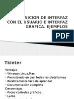 Definicion de Interfaz Con El Usuario e Interfaz