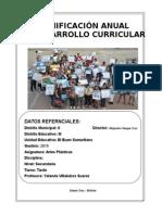 1 Planificacón Anual Artes Plasticas 2014