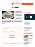 Dairy-Free Creamy Béchamel Sauce Recipe