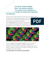 Las Aplicaciones de La Nanotecnología Parecen Infinitas