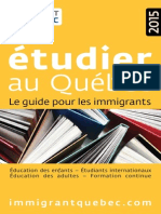 Guide Etudier 2015