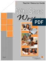 Write, Score, Resource