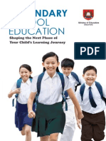 Secondary School Education Booklet
