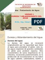 Dureza y Ablandamiento del Agua.pptx