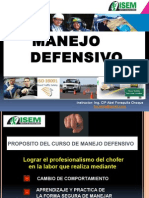 Manejo Defensivo 2015