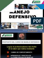 Manejo Defensivo 2015