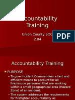 County Accountability Training