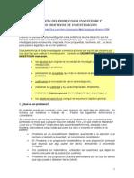 El Planteamiento Del Problema de Investigación (Documento CL4)