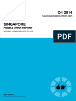 Singapore Food and Drink Report q4 2014