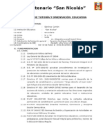 Plan Tutorial San Nicolas 2014