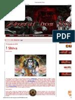 Portal Dos Mitos_ Shiva