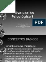 Evaluacion Psicologica 1 Sesion 2