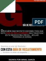 Guia Reclutamiento Multinivel 3.0 2015
