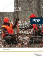 2014 Ontario Hunting Regulations