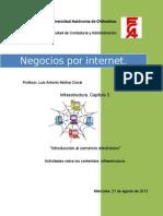 actividades sobre los contenidos infraestructura