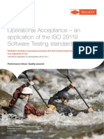 Operational Acceptance Test - White Paper, 2015 Capgemini