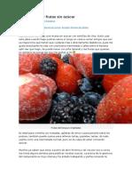 Jalea de Chía y Frutas Sin Azúcar