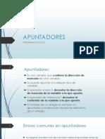 Prog C - Apuntadores