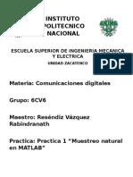 Practica 1 Comunicaciones Digitales