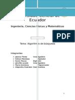 Algoritmos de Busqueda secuencial