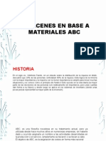 Almacenes en Base a Materiales ABC