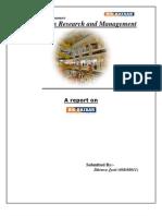 Report on the inventory management of BIG BAZAAR