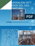 recueperacion del liquidos  del gas natural